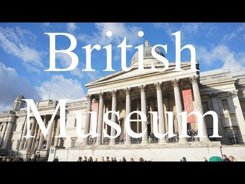 British Museum in London England Virtual Tour