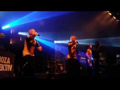 Dubioza Kolektiv LIVE @ Villa Pace, Belgium ( NEW SONG FREE MARKET ) HD