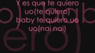 Te Quiero - Belinda y Nigga (DJ Flex) (con letra)