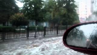 20.06.2015 Курск ул. Ленина затопило...