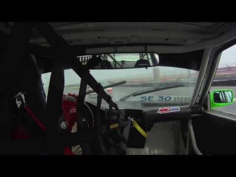 Patrick Vogel NASA Spec E30 Qualifying Race In The Rain