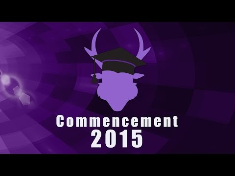 2015 Spring Commencement Online & Evening Saturday 3pm