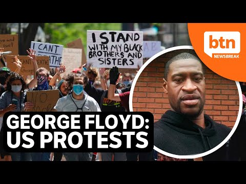 George Floyd's death sparks #BlackLivesMatter protests across America