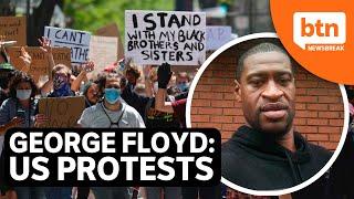 George Floyd's death sparks #BlackLivesMatter protests across America