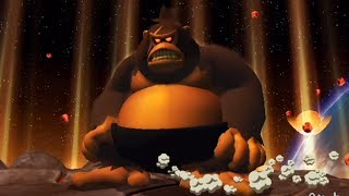 Donkey Kong Jungle Beat (Wii) - 100% Walkthrough - Part 16 Star Fruit Kingdom