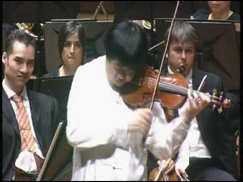 Ning Feng plays Sauret Cadenza from Paganini Concerto no1
