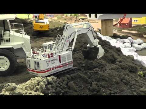 THE BEST RC MINI EXCAVATOR ON THE WORLD, HEAVY RC EXCAVATOR SCALE 1:50