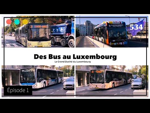 Des Bus au Luxembourg - Episode 1 #534