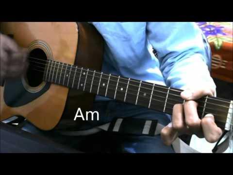 Humsafar - Badrinath ki Dulhania - Guitar cover Lesson Chords Easy Beginners - Varun ,Alia