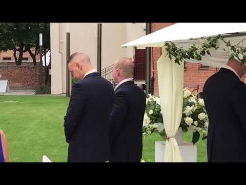 Justin and Marta's wedding
