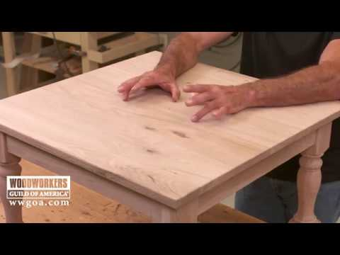 75d5c2b8c033 Allowing for Wood Expansion on Solid Wood Tops - YouTube