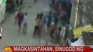 UB: Magkasintahan, sinugod ng grupo ng mga menor de edad sa QC