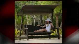 Alexander Rose Swing Seat | Rattan Swing Seat
