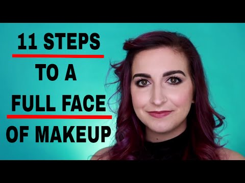 HOW TO DO MAKEUP – A Step by Step tutorial to a full face of makeup | Kirby Rose