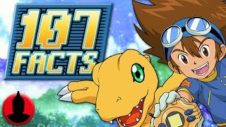 107 digimon facts you should know! - digimon anime facts! (107 facts s6 e7)