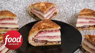 Behold the Muffuletta Sandwich of Dreams  Food Network