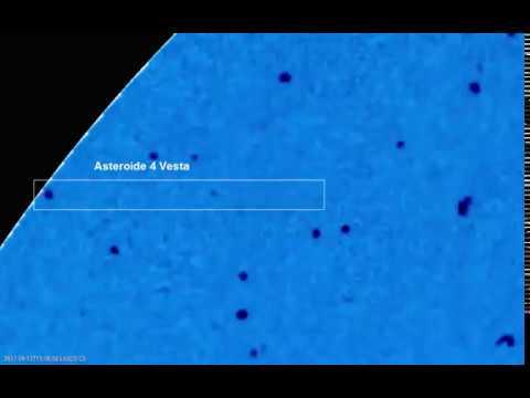 Asteroide 4 Vesta - Satelite SOHO 20170916