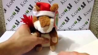 видео обзор Интерактивная игрушка говорящий хомяк