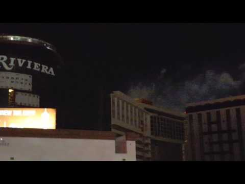 Historic Riviera Hotel in Las Vegas implode and collapse!
