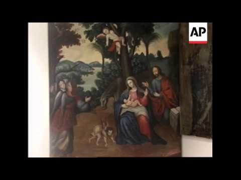 Religious art restored in Peru