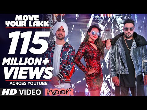 Thumbnail: Move Your Lakk Video Song | Noor | Sonakshi Sinha & Diljit Dosanjh, Badshah | T-Series