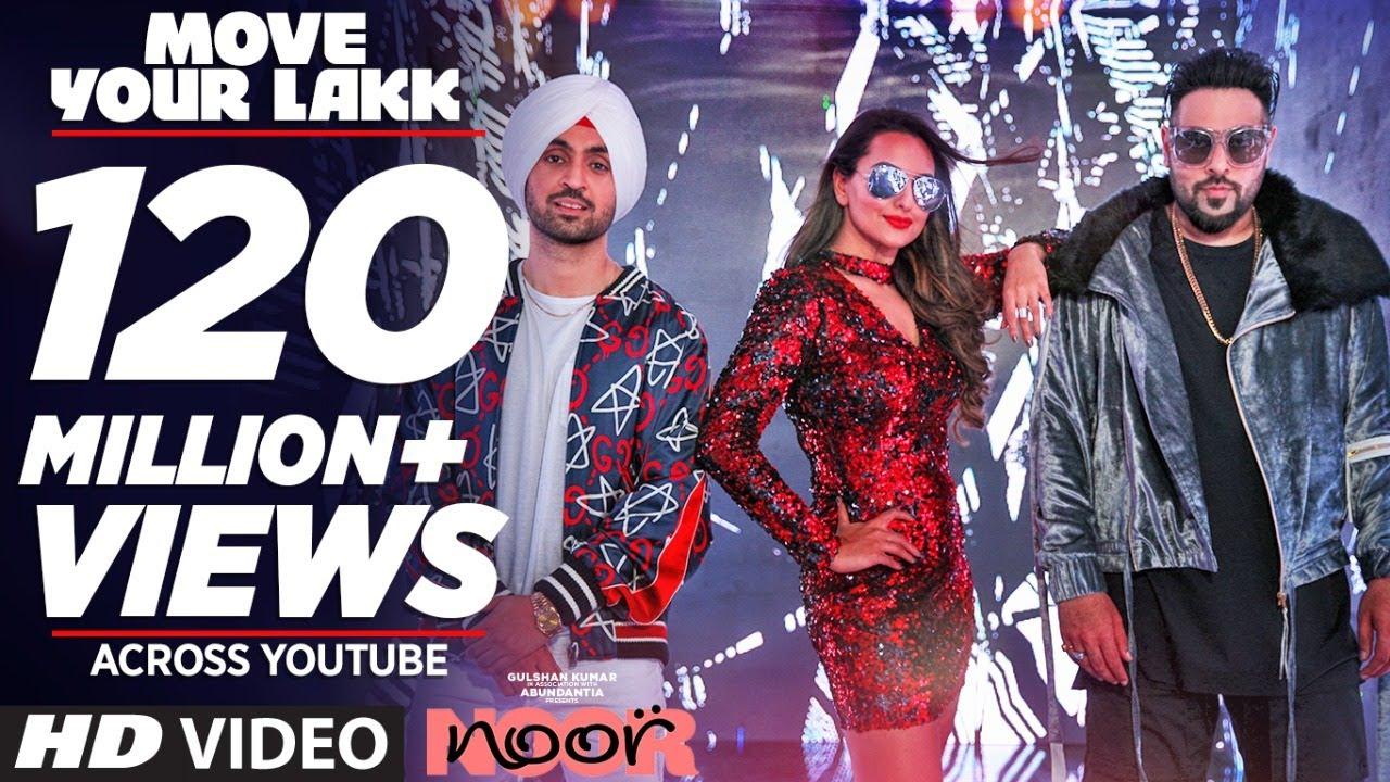 Move Your Lakk Video Song | Noor | Sonakshi Sinha & Diljit Dosanjh, Badshah | T-Series #1