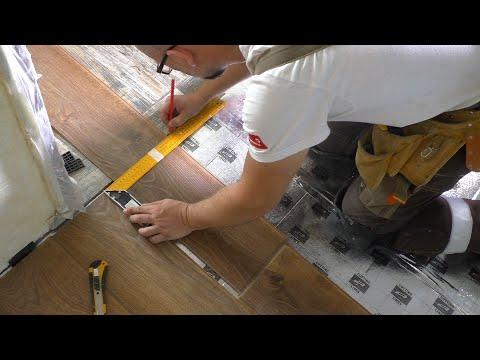 0 - Укладання ламінату на теплий водяний підлогу