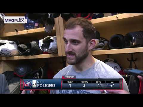 Post game: Nick Foligno 11/24/17