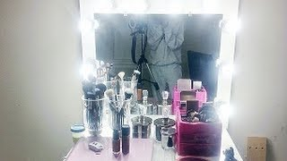 D.i.y. Lighted Vanity Mirror