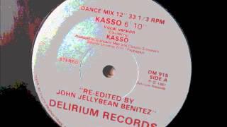 """Kasso  - Kasso. 1981 (12"""" Classic Jazz Funk)"""