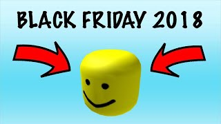 How to get the BIGHEAD | Roblox Black Friday 2018