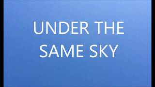 MIYAVI  UNDER THE SAME SKY  【lyric】