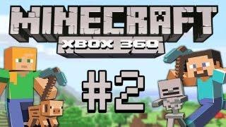 Minecraft - Let's PĮay Minecraft Xbox 360 #2 [deutsch/german] Minecraft Together Gameplay Xbox 360 Edition