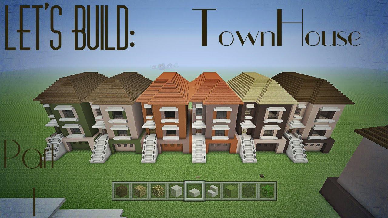 Minecraft Lets Build A City Part