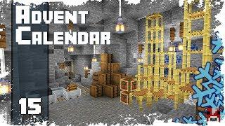 Minecraft Timelapse Advent Calendar - 15 - LAPIS MINESHAFT!