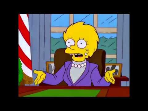 The-Simpsons-Future-President-Lisa-Simpson