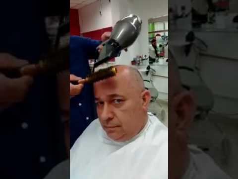 Bald Guy Gets A Haircut Youtube
