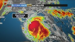 Fast-strengthening hurricane closes in on Florida Panhandle