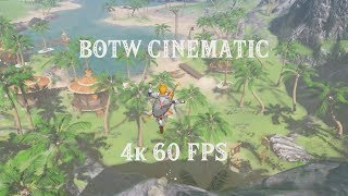 CEMU - Zelda: Breath of the Wild 4k 60 fps gameplay on PC! 60 fps pack now public!