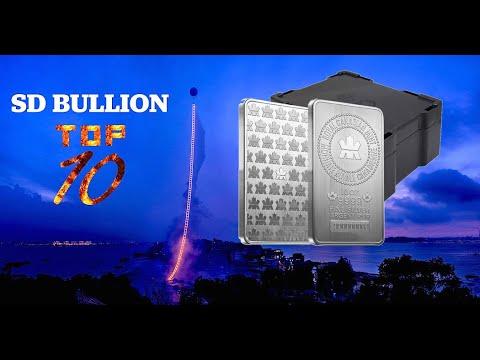 TOP 10 Bullion Products - 10 oz Silver Bars | SD Bullion