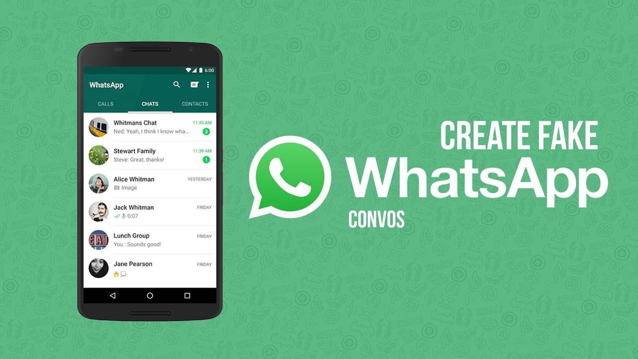How to make fake whatsapp video call screenshot