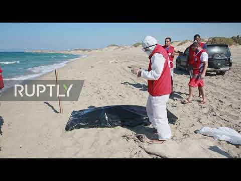Libya: Over 60 bodies retrieved from coast after migrant boat capsizes