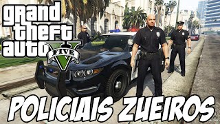 GTA V PC OS POLICIAIS DA ZUEIRA Vuullcs
