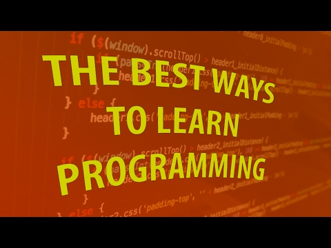 Best Ways To Learn Programming
