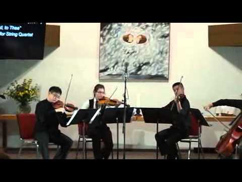 Prime Chamber Music Society - Nearer, My God, to Thee for String Quartet