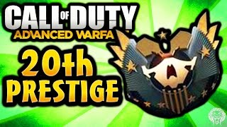 COD Advanced Warfare: NEWS! 20th Grand Master Prestige, Comeback 24/7, Double XP (Call of Duty AW)