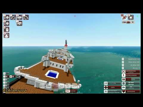 From the Depths! Sinking SS Andrea Doria (Minecraft Design)