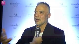 خاص بالفيديو .. ماذا قدم عبد محفوظ في أول عروض أزيائه بمصر في (لامودا بيروت)
