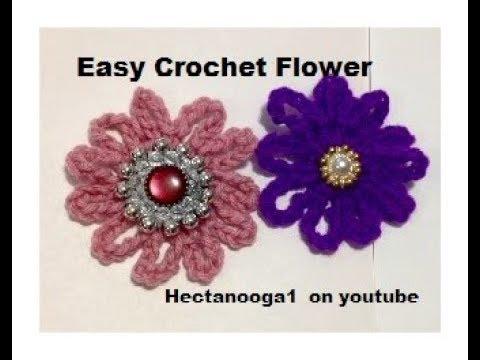Easy Crochet Flower Pattern 2224 And Baby Deer Born In My Yard