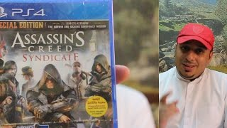 أنـبوكسـينق لعبة أساسينز كريد سينديكيت - بلايستيشن 4   Assassins Creed Syndicate